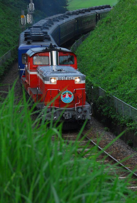DD51復路