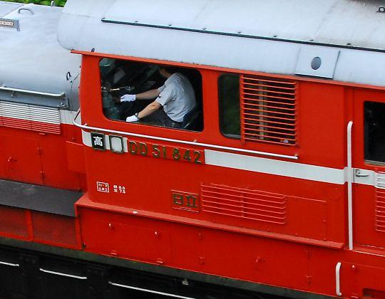 DD51運転席