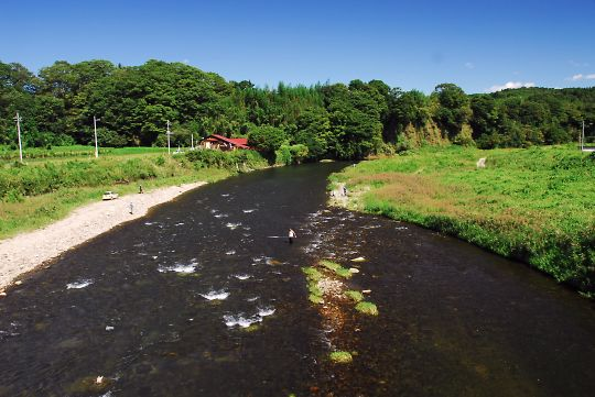 濁流の荒川